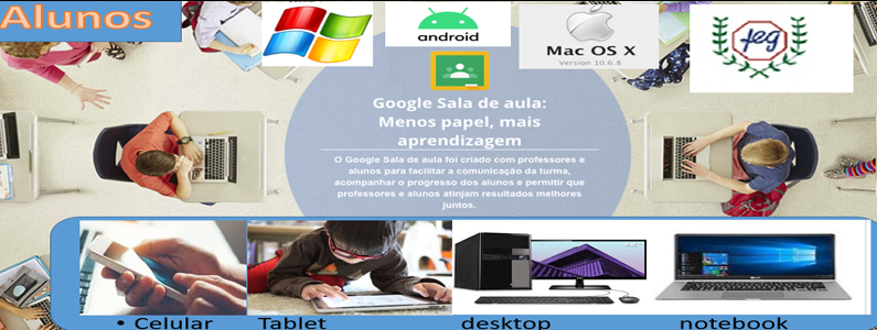 Feg inova e lança apoio com ensino a distância pelo Google ClassRom